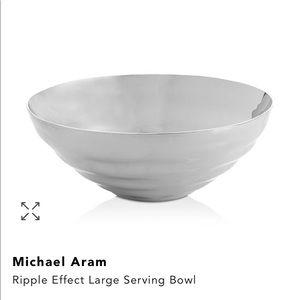 NWT: Michael Aram Ripple Effect Large Serving Bowl